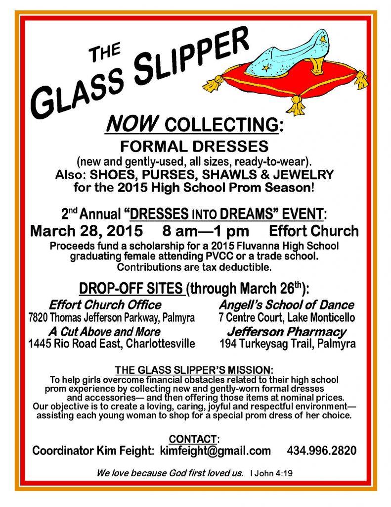 2nd Annual GLASS SLIPPER